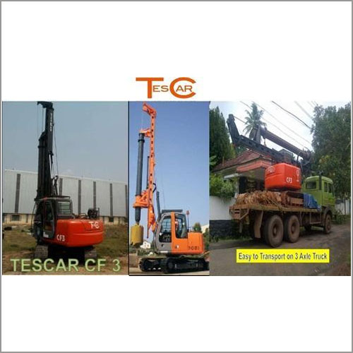 TesCAR Compact Piling Rigs